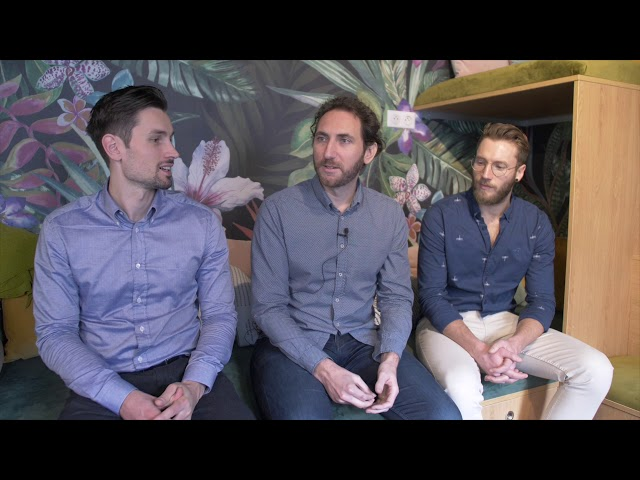 Weedoo It startup up CEO Guillaume Gras and Remy DeLaFontaine Founders Testimonial