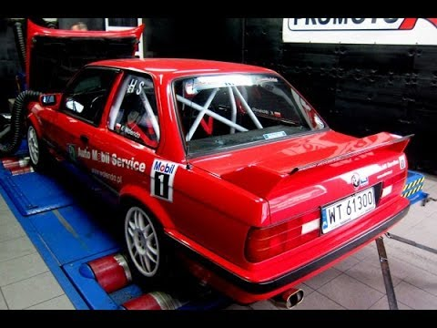 BMW e30 is M42B18 207 HP / 213 Nm Dyno Test