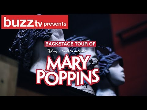 Backstage Tour of Mary Poppins The Musical