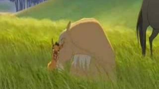 Repeat youtube video Spirit, l'étalon des plaines, Me voilà