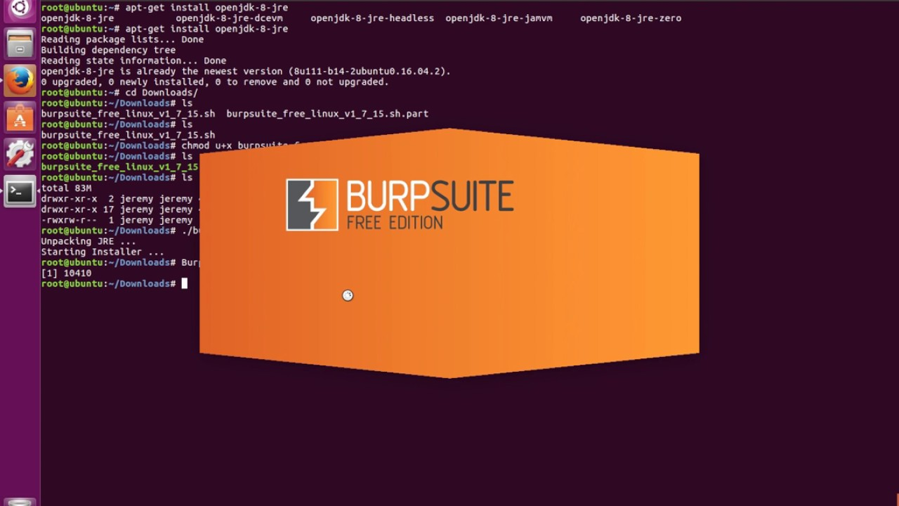 How to Install Burp-Suite Free Edition on Linux