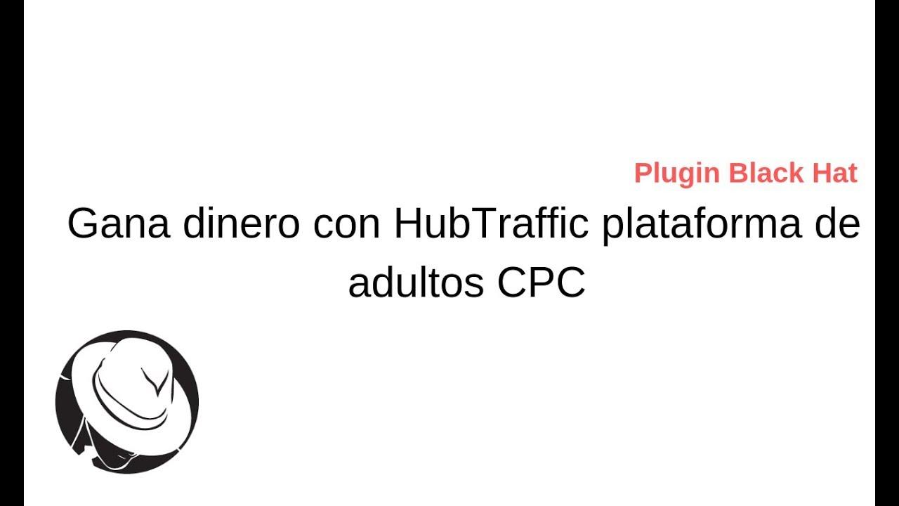 Gana dinero con hubtraffic usando el plugin hubBlack