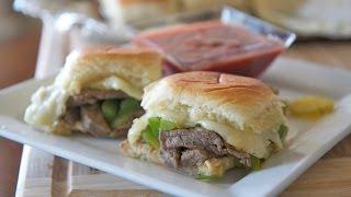 Philly Cheesesteak Sliders Recipe