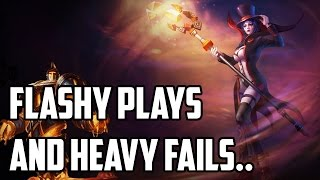 Bjergsen - FLASHY PLAYS AND HEAVY FAILS