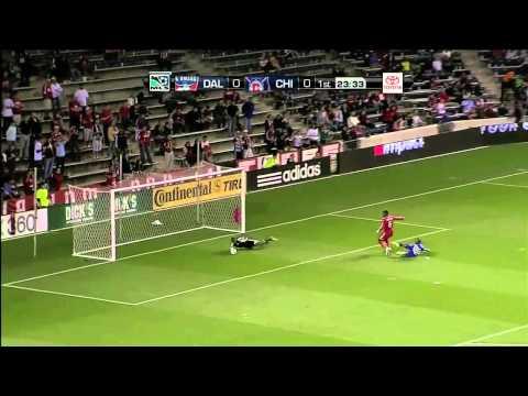 Strong Save from Sean Johnson vs FC Dallas