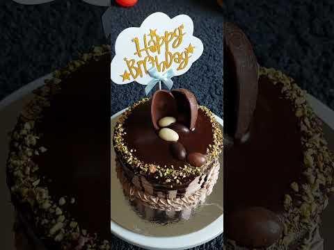 #shorts Chocolate Ganache Mocha Cake