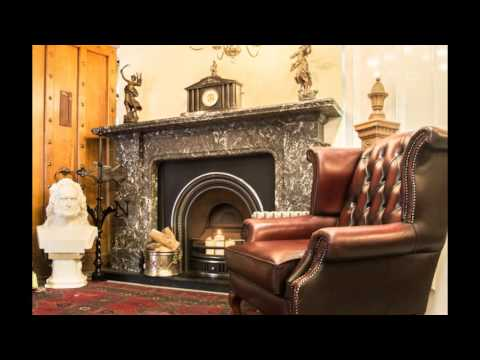 Antique Fireplaces at Holyrood Architectural Salvage
