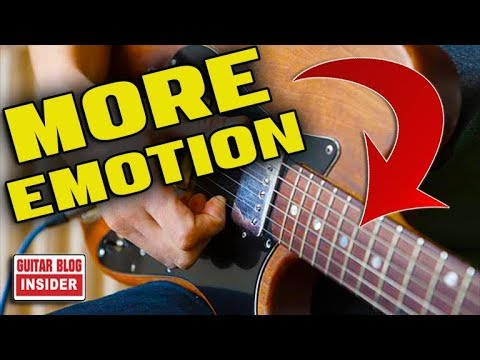 7 Ways to Play Lead Guitar with More Emotion