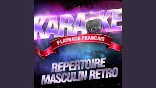 Le Trou De Mon Quai — Karaoké Avec Chant Témoin — Rendu Célèbre Par Dranem