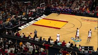 NBA 2K13 Demo Gamplay Xbox 360 - Oklahoma City vs Miami
