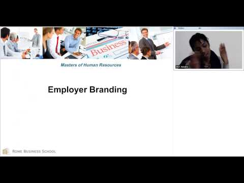 Lecture on Employer Branding - Online Master in International Human Resources Management