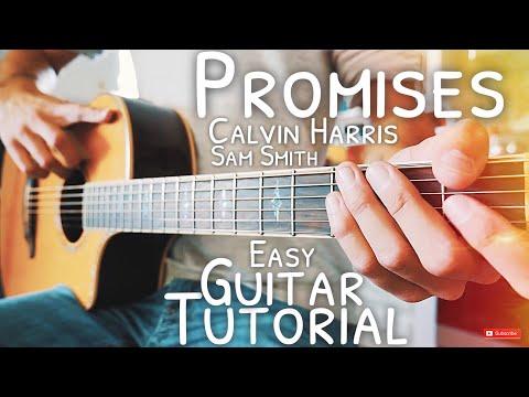 Promises Calvin Harris Sam Smith Guitar Tutorial // Promises Guitar // Guitar Lesson #445