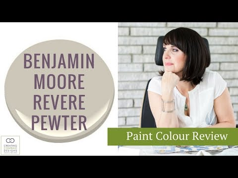 Benjamin Moore Revere Pewter Paint Colour
