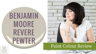 Benjamin Moore Revere Pewter Paint Colour