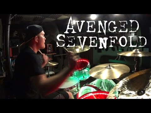 avenged sevenfold the stage drum cover by rex larkman youtube. Black Bedroom Furniture Sets. Home Design Ideas