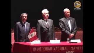 Rector UNMSM anuncia contrucción de nueva sede Centro Preuniversitario en ceremonia 20 aniversario