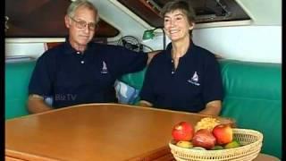 Marvin & Ruth around the world on a Catamaran.