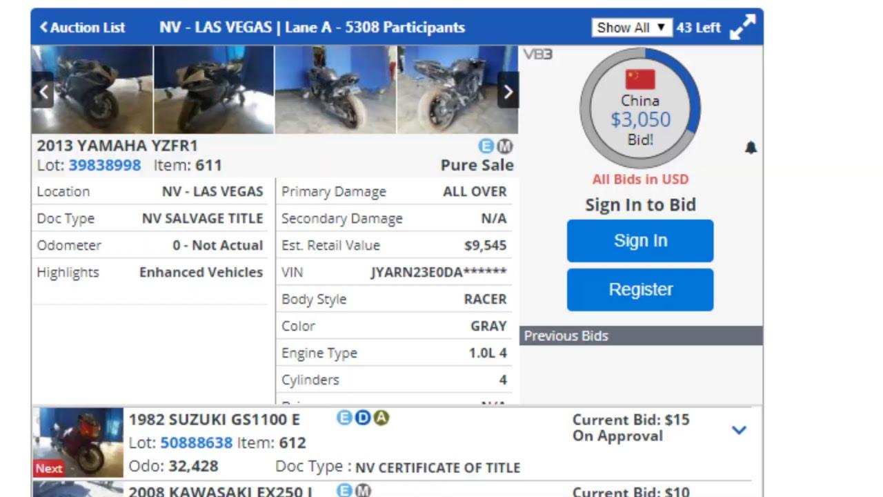 Copart Live Auction Las Vegas Nv