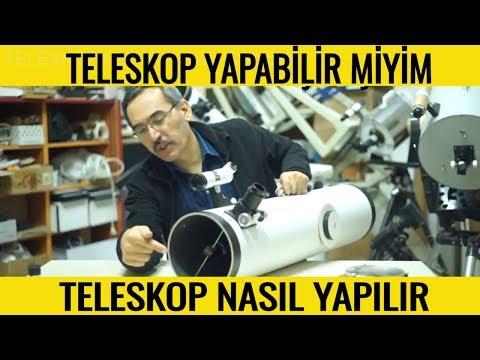 Teleskop Nedir Nasıl Yapılır ? Teleskop Çeşitleri