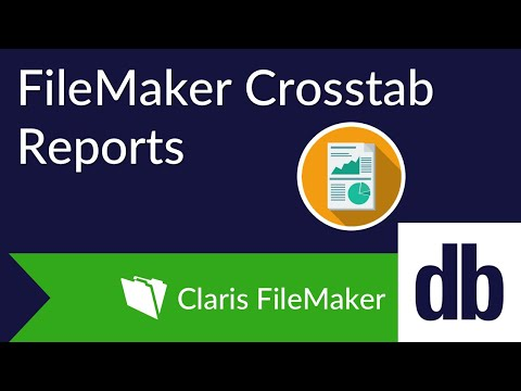 FileMaker Crosstab Reports