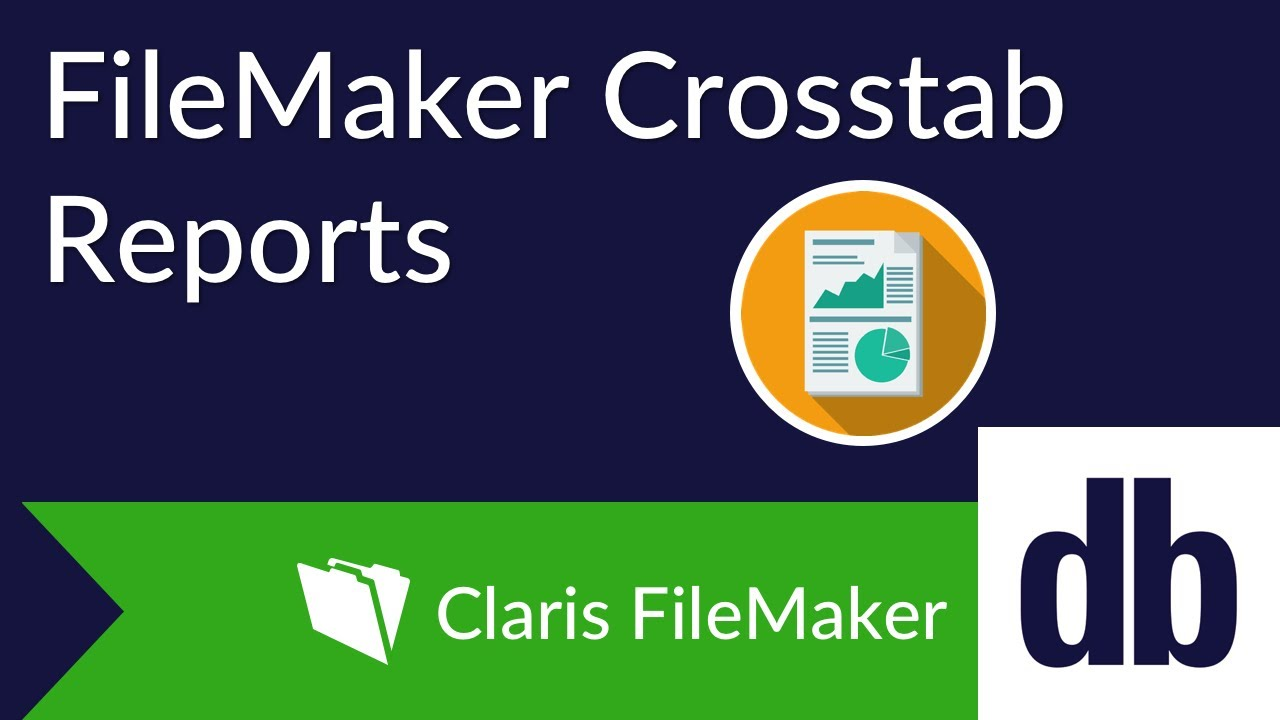 FileMaker Cross Tab Reports | DB Services
