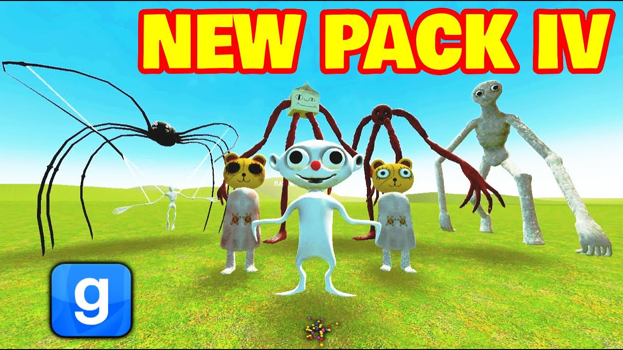 Download NEW Trevor Henderson Creatures PACK 4 FIGHT!! Gmod Nextbot