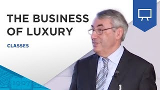 "Master Class ESSEC | ""The Business of Luxury"" - Denis Morisset"