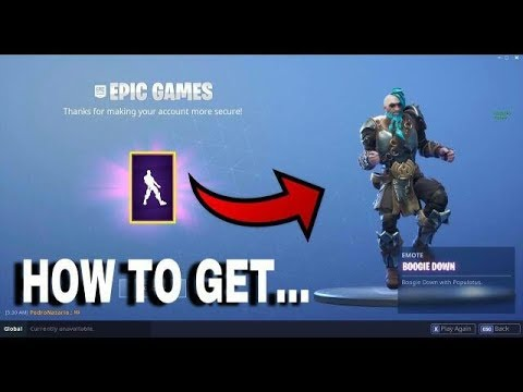 youtube premium - secure your account fortnite boogie down
