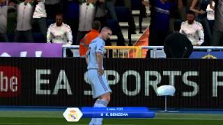 Киесаевский заброс - гол (FIFA 14)