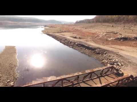 Colebrook River Lake The Ghost Bridge - Phantom 4