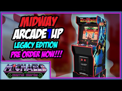 Arcade1Up Midway Legacy Edition Pre Order Now! | MichaelBtheGameGenie from MichaelBtheGameGenie