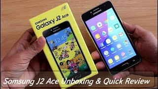 Samsung Galaxy J2 Ace Unboxing & Quick Review II Hindi