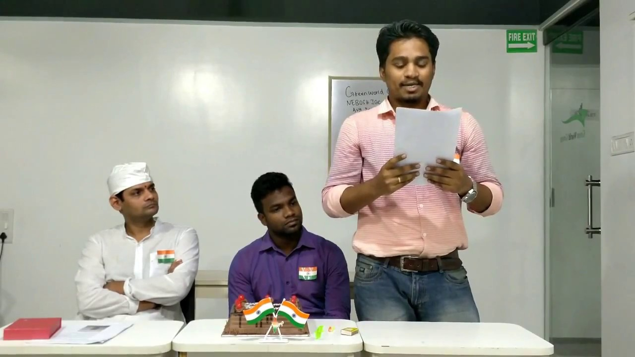 Independence Day Celebration In Green World Group Chennai Youtube