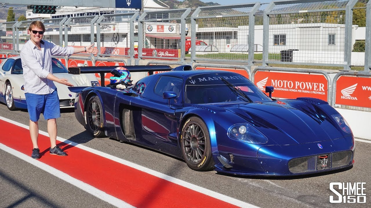 The Maserati MC12 Corse is the CRAZIEST Car I've EVER Driven ...