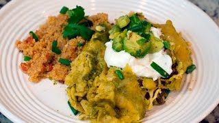 Beefy Corn & Lime Enchiladas