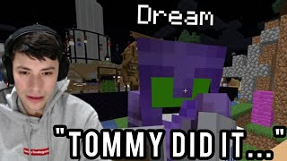 Georgenotfound Finds out his House got BURNED down on the Dream SMP!!