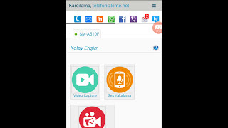 Ücretsiz telefon dinleme Kullanım Videosu