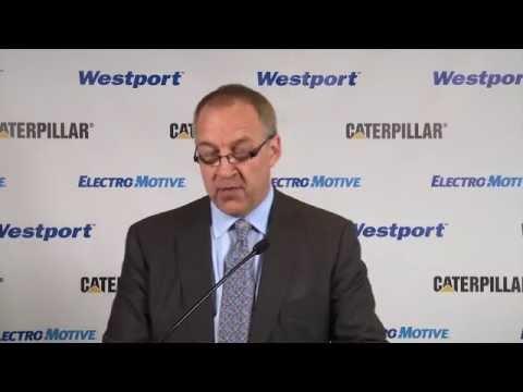 Caterpillar & Westport Innovations Announce Partnership