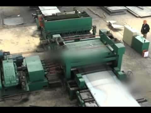 Станок для разрезания листовой углеродистой стали