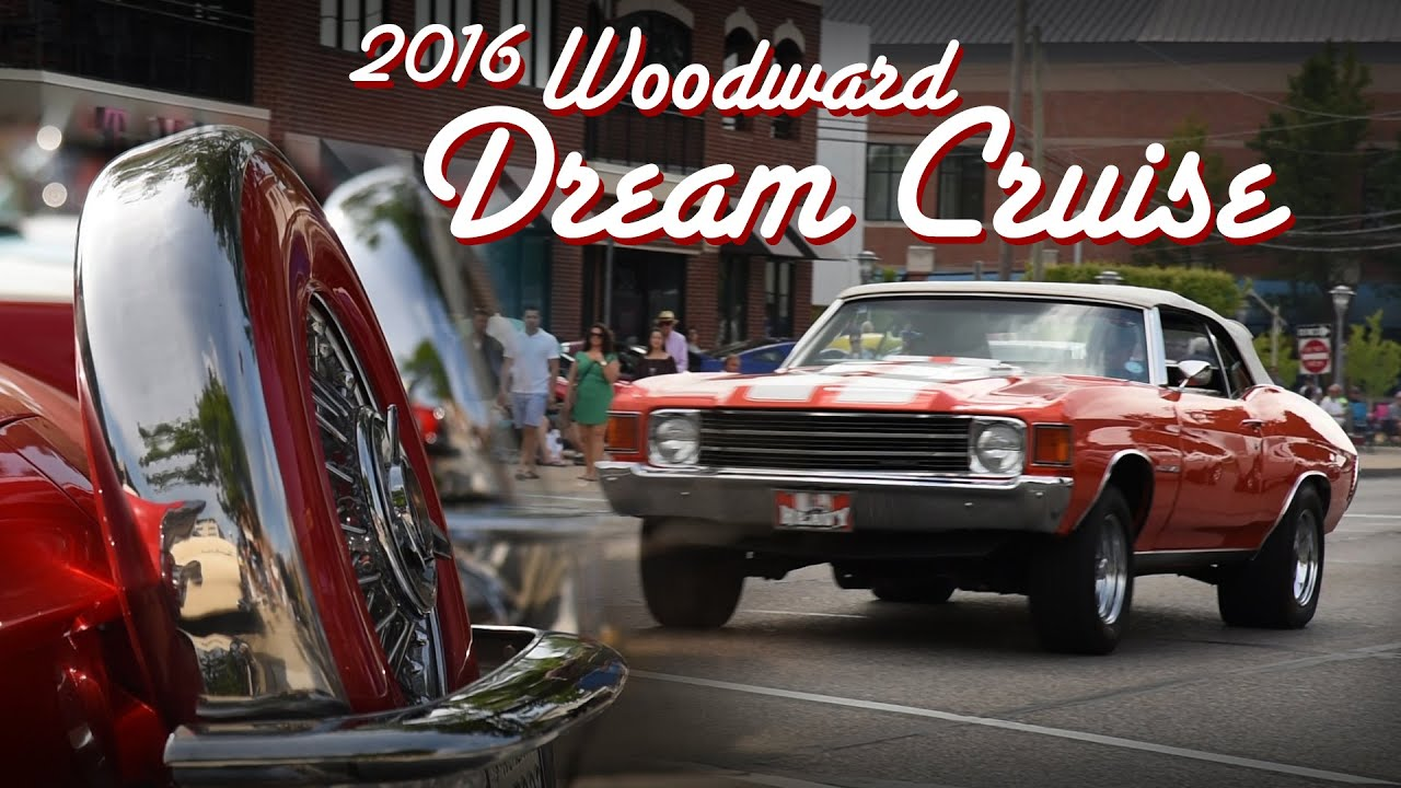 Why The Woodward Dream Cruise Is A Must For Car Lovers Youtube