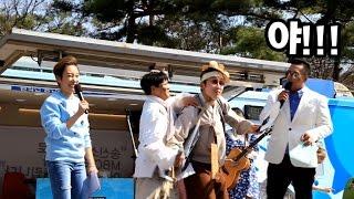 MBC라디오 생방송에 초대받은 민속촌 캐릭터들