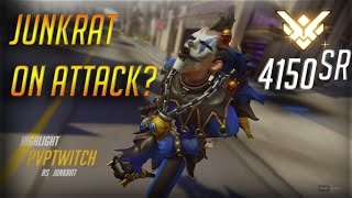 [#1 Junkrat Gameplay - 4150sr] PVPTWITCH - JUNKRAT ON ATTACK?!?