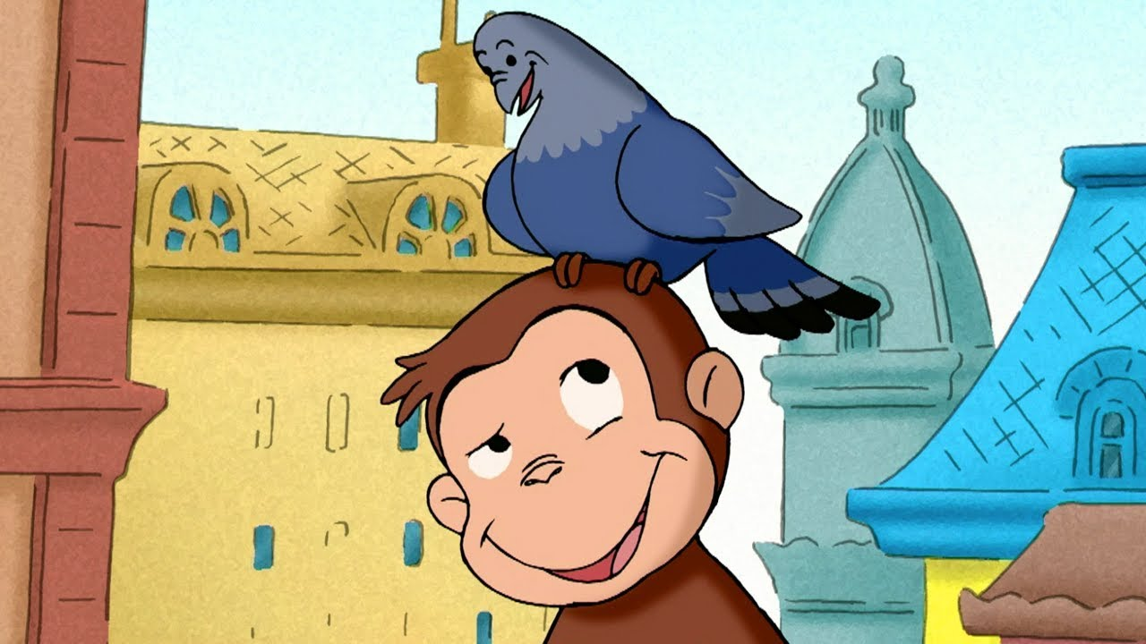 Curious George - George's Home for Pigeons