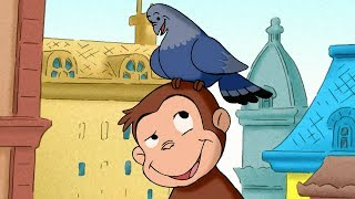 Curious George 🐵George's Home for Pigeons 🐵 Kids Cartoon 🐵 Kids Movies | Videos For Kids