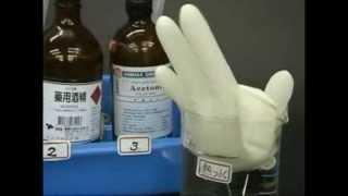 中學化學示範實驗:超能力大師 III---自己膨脹的手套A