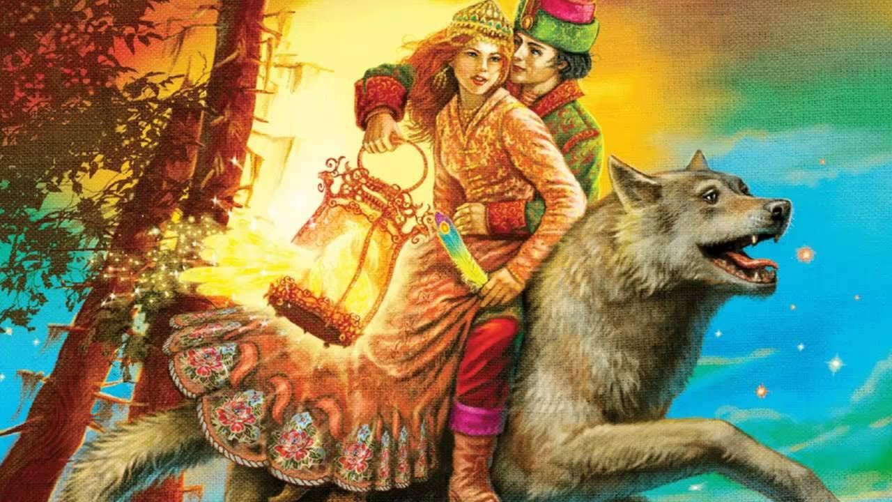 Картинки ивана царевича и серова волка