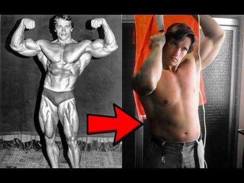 Arnold Schwarzenegger in the Off Season