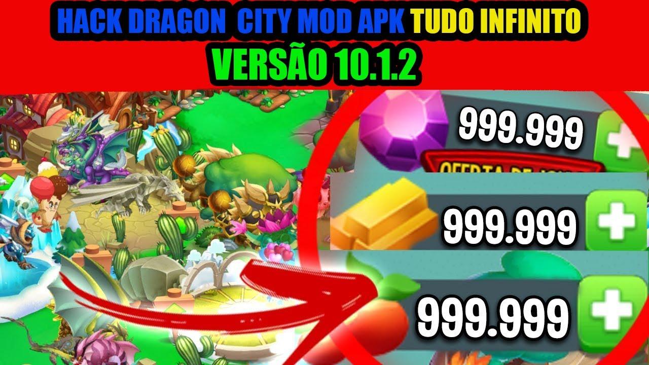 Hack Dragon City Tudo Infinito Apk Mod versão 10.1.2 (download via MediaFire)