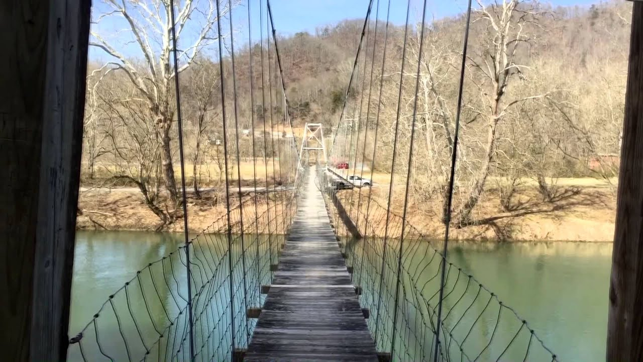 Swinging bridge fish