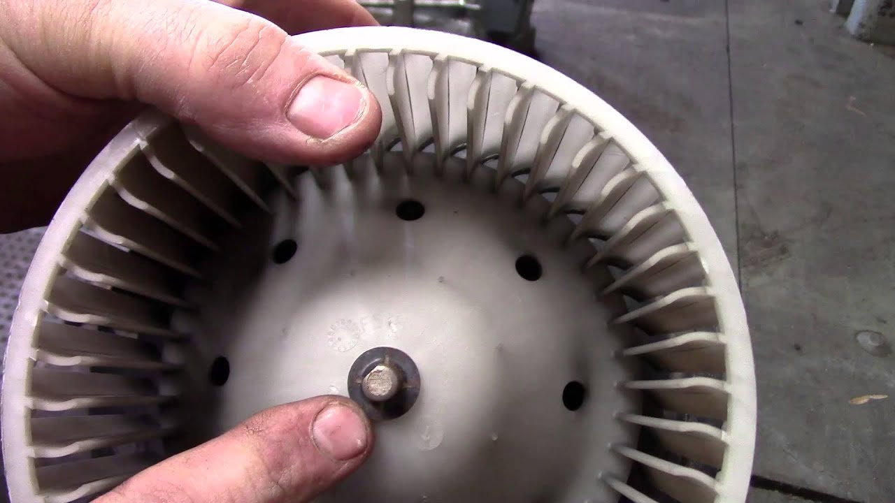 Ford E450 Blower Motor Replacement Youtube 1994 4 0 Engine Diagram Fan